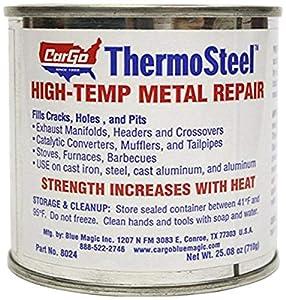Blue Magic 8024 ThermoSteel High-Temp Metal Repair - 24 oz
