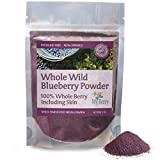 Wild Blueberry Powder -100% Whole Berry, Pesticide Free, 3oz, Not an Extract, Bilberry, Concentrate Or Juice Powder, Small, Woman-Owned Company