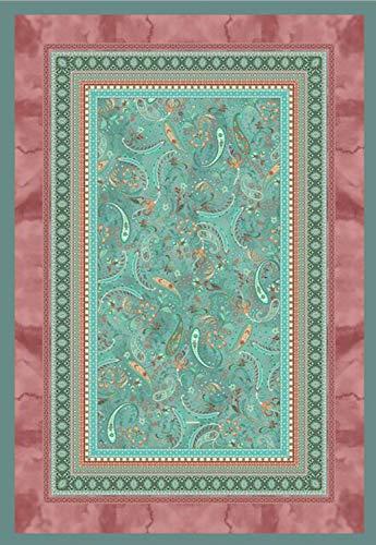 Bassetti Plaid BURANO V1 grün 135X190 cm