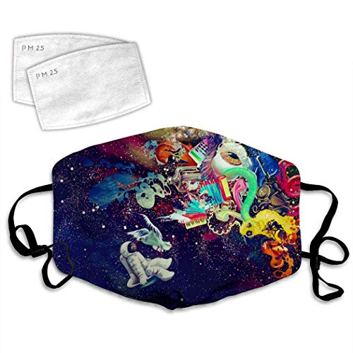 Tra-vis SCO-tt Psychedelic Trap Anti-Dust Anti-Pollution Windproof Cover