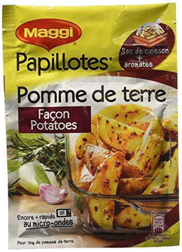 Maggi Papillotes Pommes de Terre Façon Potatoes (1 Sachet) - 34g