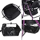 Baby Stroller Basket Baby Under Stroller Storage Basket Pram Waterproof Netting Underseat Basket Mesh for Storing Baby Product, 30cm x 30cm