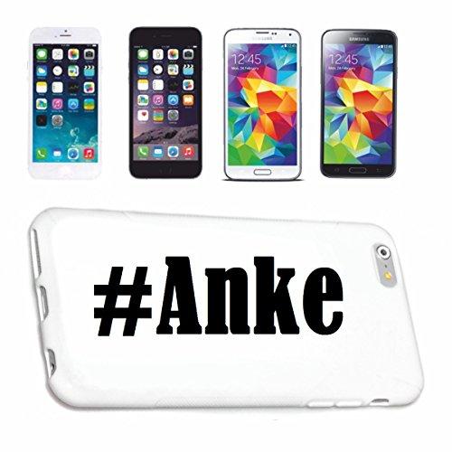Reifen-Markt Handyhülle kompatibel für iPhone 5C Hashtag #Anke im Social Network Design Hardcase Schutzhülle Handy Cover Smart Cover