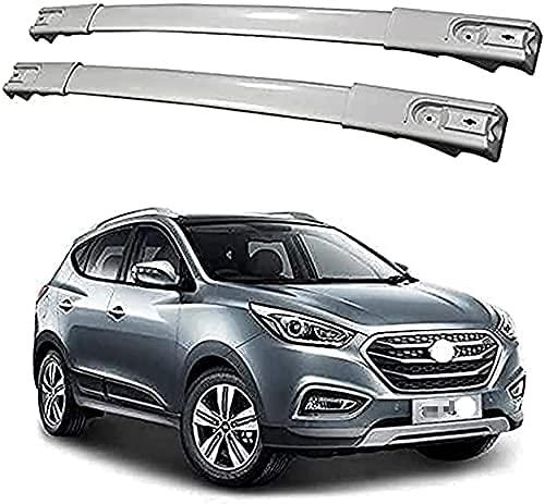 2 Piezas Coche Barras De Techo Portaequipajes Para Hyundai IX35 2011-2016, Tuning...