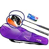 Badminton Set With Carrying Cases