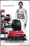 Close Up Mclaren Mercedes Poster Jenson Button (93x62 cm)