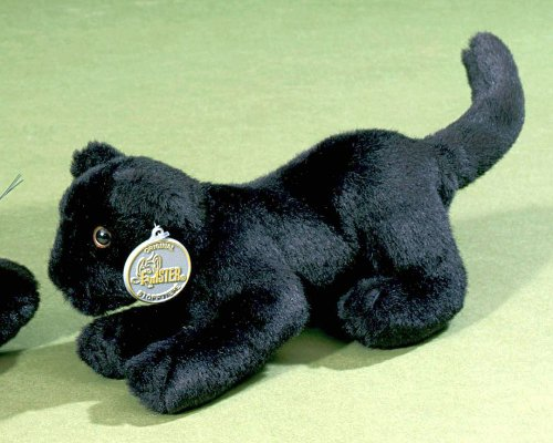Förster Stofftiere 7410 Panther-Baby 25cm