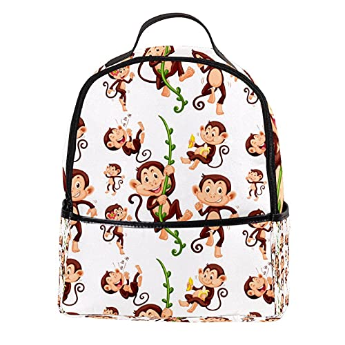 ATOMO Mini mochila casual calcetín monos pu cuero viaje compras bolsas Daypacks