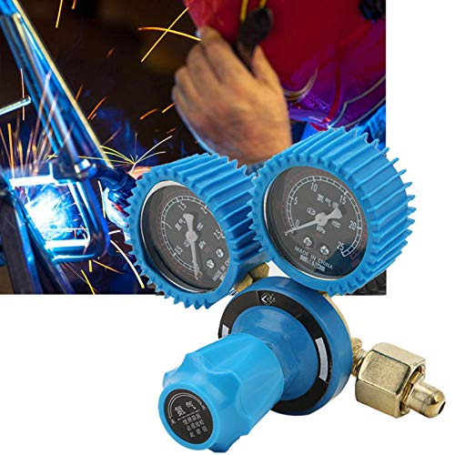 Regulador de nitrógeno Manómetro Reductor de presión Regulador de soldadura Medidor de nitrógeno Manómetro industrial Presión de nitrógeno para reducir la presión para pruebas de nitrógeno