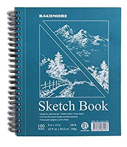 WONDERFUL DESIGN FEATURES - The paper inside the sketchbook is very beautiful & smooth while drawing. Pages are easily torn from the notebook with punctures. Our sketch pad is suitable for adults & kids. SUPER PRACTICAL CHARACTERISTICS - These papers...