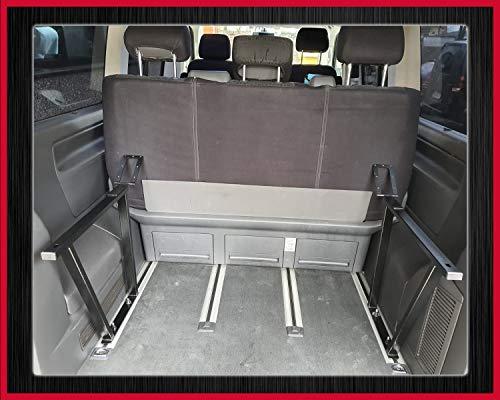 Sitzbezüge Schonbezüge SET SE VW T5 Caravelle Stoff schwarz