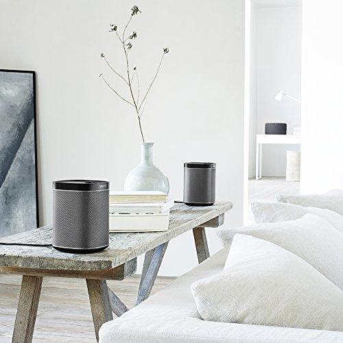 Sonos PLAY:1 I Kompakter Multiroom Smart Speaker für Wireless Music Streaming (schwarz) - 10