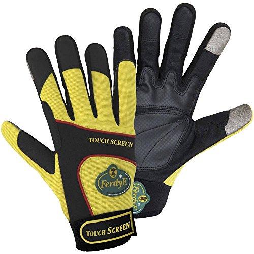 FerdyF Clarino®-Kunstleder Montagehandschuh Größe (Handschuhe): 9, L EN 388 Cat II Mechanics TOU