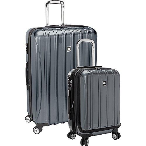 DELSEY Paris Helium Aero Hardside Expandable Luggage with Spinner Wheels, Titanium, 2-Piece Set (19/29)