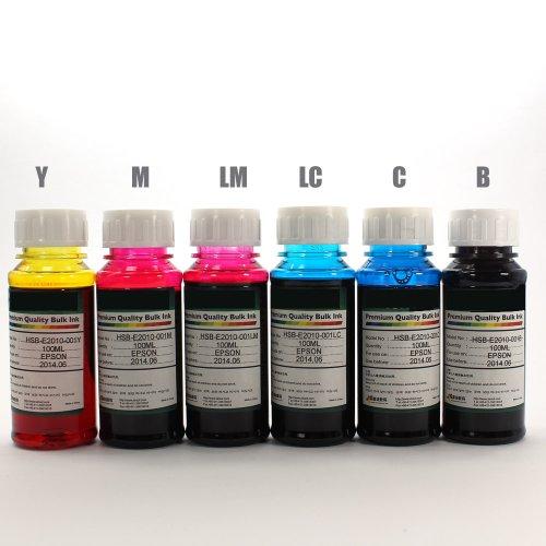 Non-oem Bulk Ink Refill for Epson Artisan 50 700 710 725 800 810 835 Printer 98 99