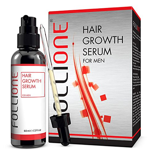 Hair Loss Treatment | Dermatologically Tested Hair Growth Serum for Men | Developed as an alternative to Minoxidil | One month supply