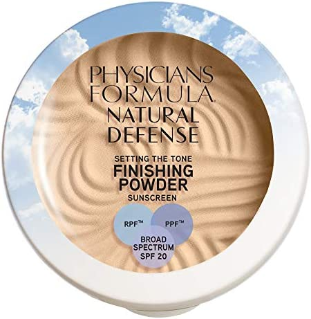 Physicians Formula Natural Defense Setting the Tone Finishing Powder SPF 20 Light 0 35 Ounce product image