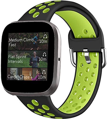 Classicase Compatible con Fitbit Versa 2 / Versa 2 SE/Versa Lite/Versa smartwatch Correa de Reloj, Banda de Reemplazo Silicona Suave Sports Pulsera (Pattern 14)