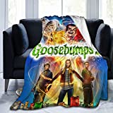 Goosebumps 2 50'x40' Throw Blankets Super Soft Microfleece Blankets Warm Blankets for Bed Sofa Blankets Lightweight Blankets