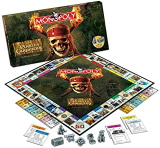 Usaopoly Pirates Of The Caribbean Collector's Edition Monopoly