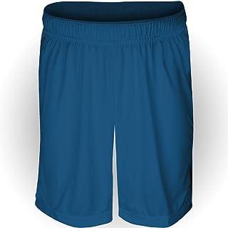 094d88166fe6c Calção AX Esportes Poliéster Liso Azul