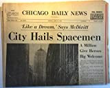 Chicago Daily News (newspaper), Monday, June 14, 1965: City Hails Spacemen: A Million Give Heroes Big Welcome (front section only)