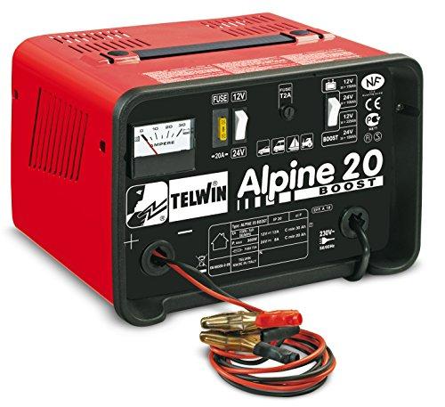 chargeur pour voitures et motos de 12 V et 24 V Alpine 20