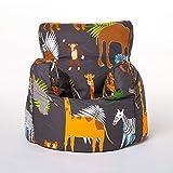 Shopisfy Kids Toddler Armchair   Soft Child Safe Seat Playroom Sofa   Comfy Children Furniture   Ergonomically Designed Bean Bag Chair (Africa)