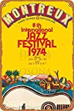 OSONA 1974 Montreux 8Th International Jazz Festival Retro