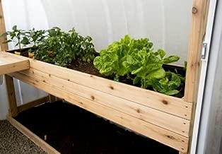 Solar Gem Greenhouse Raised Bed Planter 86″