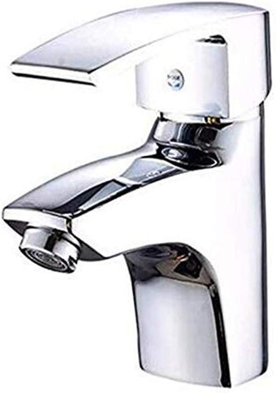 Oudan Faucet Basin Faucet Kitchen Faucetbathroom Sink Taphole Single Handle Hot and Cold Water Faucet Seat Type Ceramic Valve Core Kitchen Bathroom Basin Faucet (color   -, Size   -)