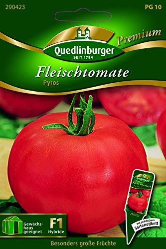 Tomaten Fleisch- Pyros - Solanum lycopersicon QLB Premium Saatgut Tomaten