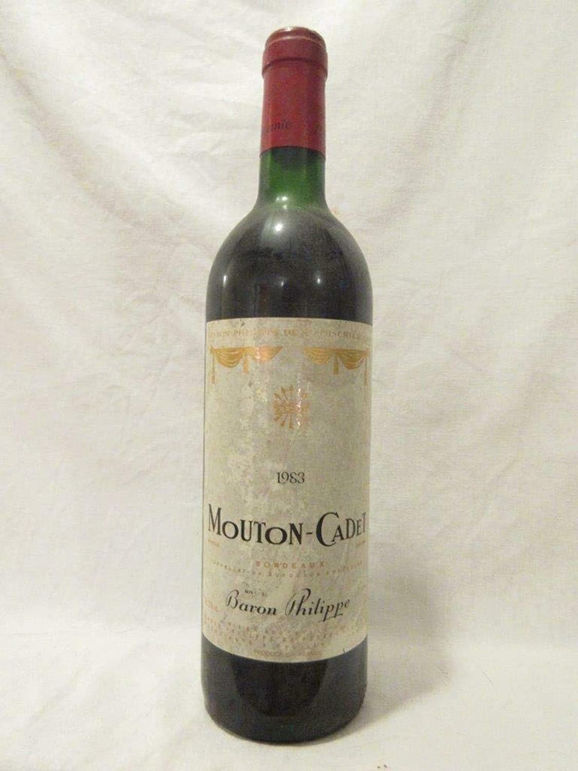 Bordeaux mouton-cadet rot 1983 - bordeaux france