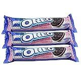Oreo Chocolate Creme Cookies 137gm (Pack of 3) (Strawberry)