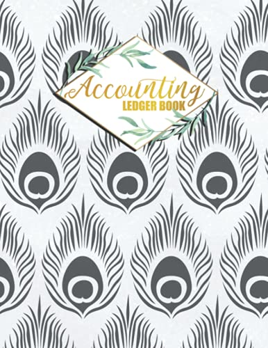 Accounting Ledger Book: Budget Journal...