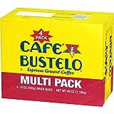 Café Bustelo Coffee, Espresso Ground Coffee Brick, 10 Ounces, 4 Count