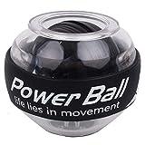 Powerball giroscopios - Muñeca fortalecedor, agarre gimnasio energía bola del giroscopio Powerball muñecas Aparatos for hacer ejercicio muscular de la mano ejercitador Gyro Pelota de ejercicio Relax F