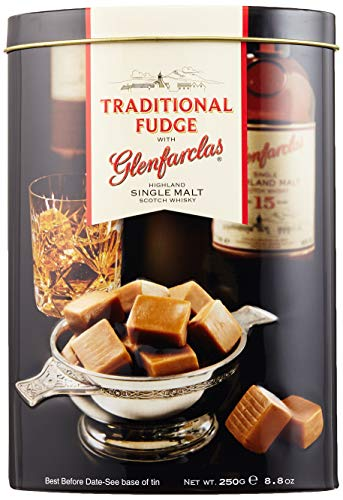 Gardiner's of Scotland Glenfarclas Malt Whisky Fudge, 1er Pack (1 x 250 g)