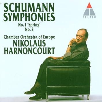 Schumann : Symphonies Nos 1 'Spring' & 2