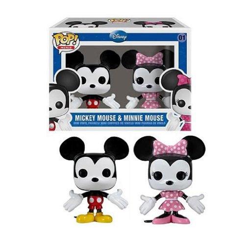 Funko POP! Disney: Mickey & Minnie Mouse
