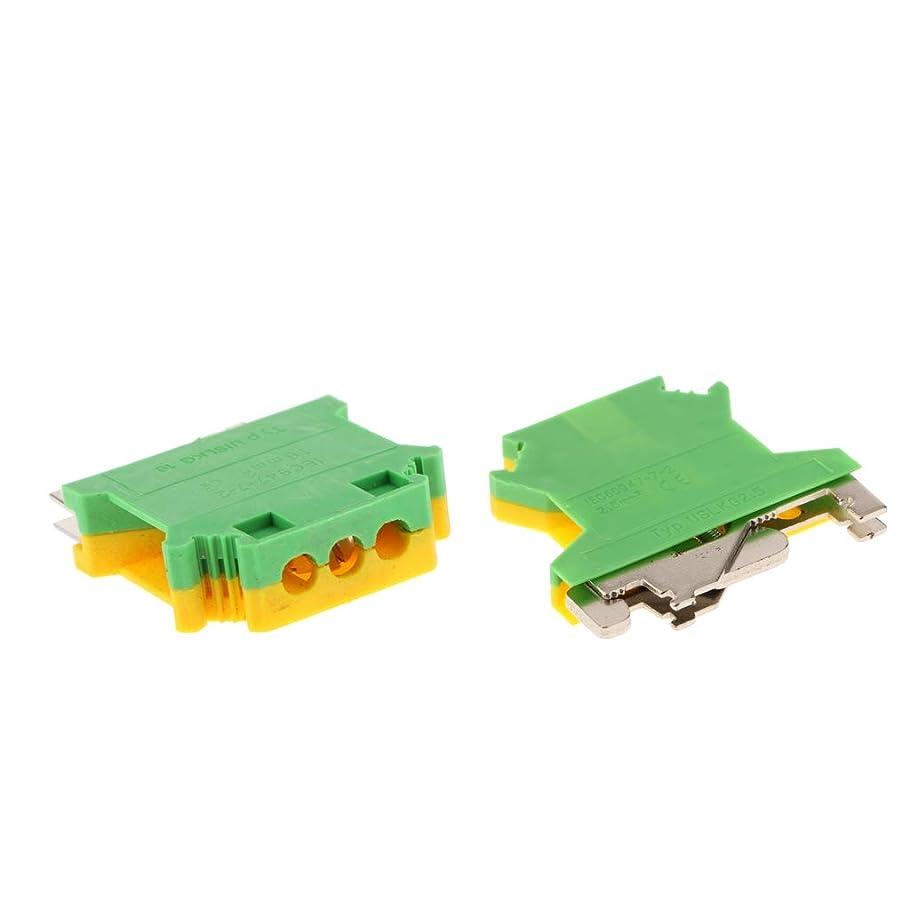 変形うるさい許可amleso DINレールマウント端子台3ウェイ150A 25-50スクエアmmネジUSLKG-16&2.5