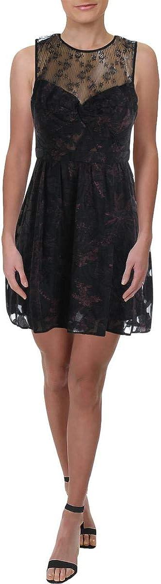 BCBGeneration Women's Sweetheart Neckline Sleeveless Dress
