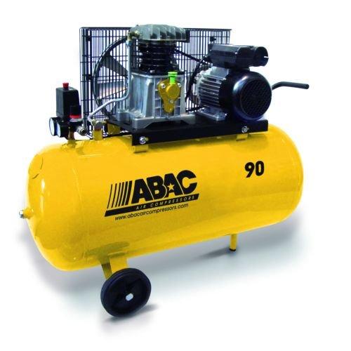 Abac Compresor Monofasico Correas 90 L 3Hp 10 Bar
