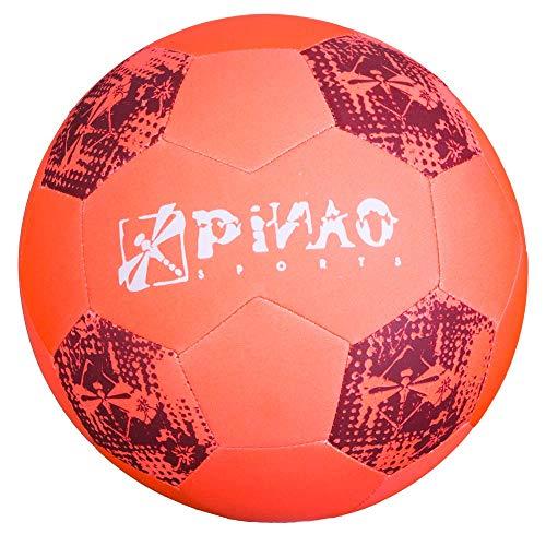 PiNAO Sports - Neopren-Beach-Fußball, Orange, Größe 5 (31011) [Beach, Strand, Fußball, Beach-Soccerball, Spielball]