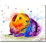 LEIWUQIZ Hámster Animal DIY Pintura Infantilmural Adulto Niños Pintura Digital Set Decoración Regalos 40X50Cm