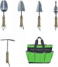 JARDTEC Ensemble Outils Jardinage avec 5 Outils de Jardin Multifonction Sac de Rangement d'Outil de Jardin et Organisateur...