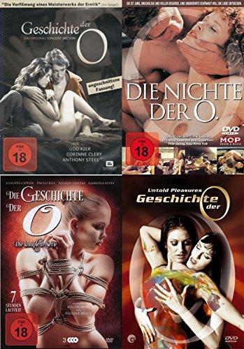 Die Geschichte der O. Collection - Das Original + Die Nichte der O + Die komplette Serie + Untold Pleasures 6 DVD Limited Edition
