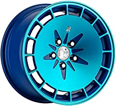 Klutch KM16 Fusion Blue Wheel with Painted (16 x 9. inches /4 x 100 mm, 18 mm Offset)