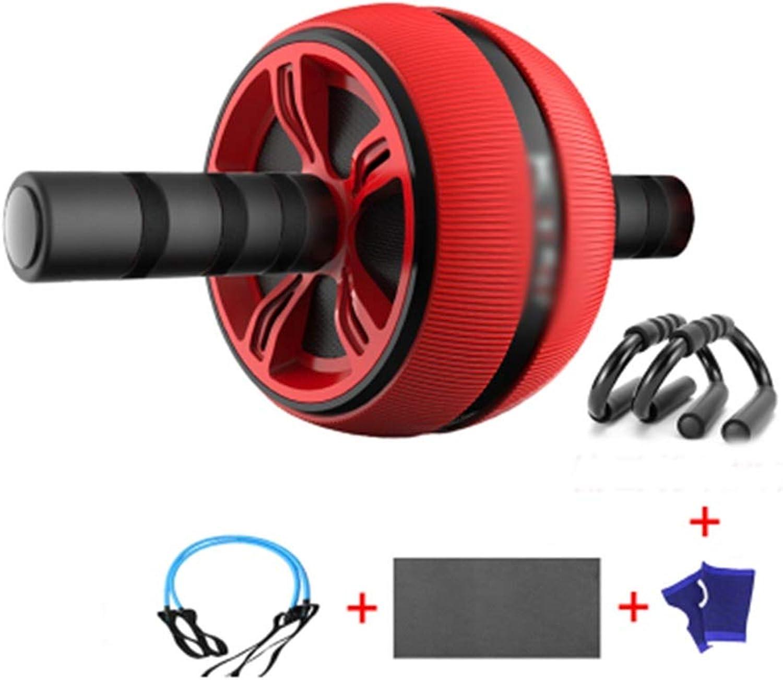 QPSGB Roller bauchtrainer- übungsrad - Bauch ABS Rad Heimfitnessgerte Sportübung Bauch Roller Roller -Roller bauchtrainer (gre   G)