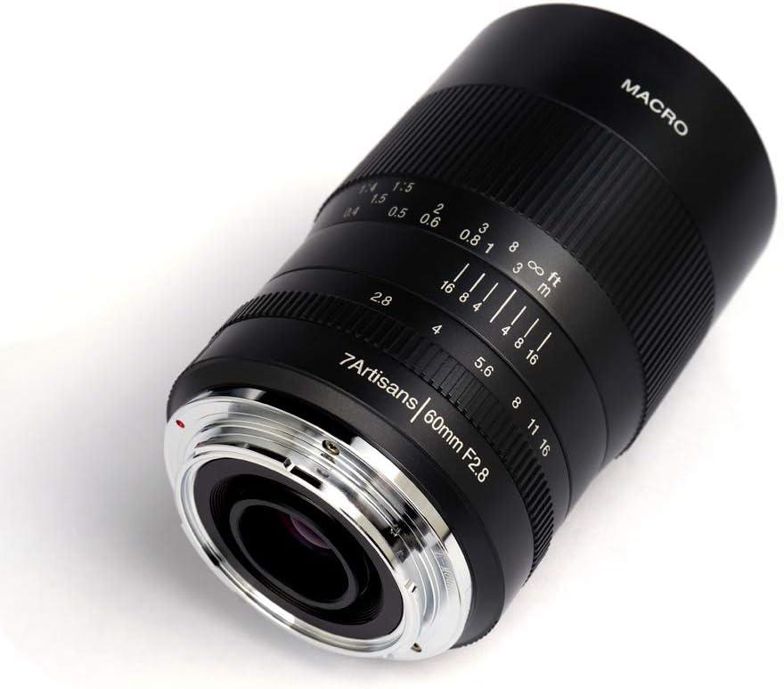 7 מאקרו 60mm f/2.8 מאקרו עבור Canon (RF ו EF-M mounts)